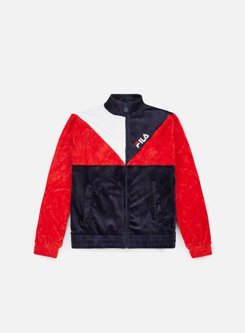 Track Top Fila Toby Velour Track Jacket