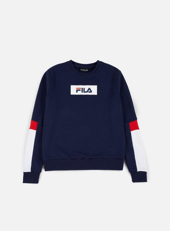 Fila - Tommy Fashion Crewneck, Peacoat