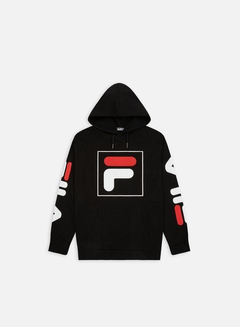felpe fila total 20 hoodie black