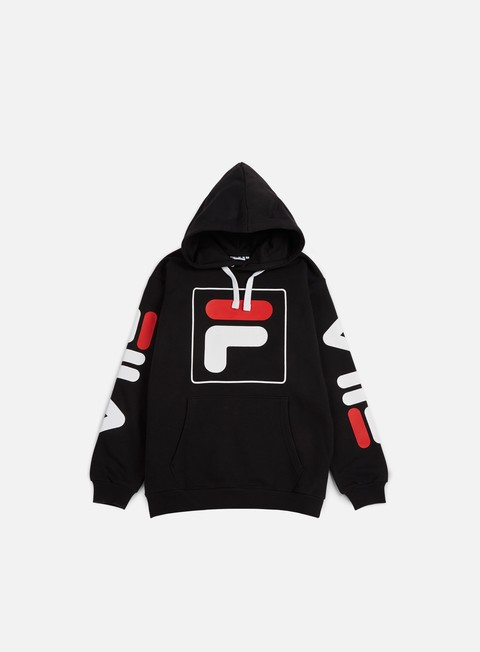 felpe fila total hoodie black