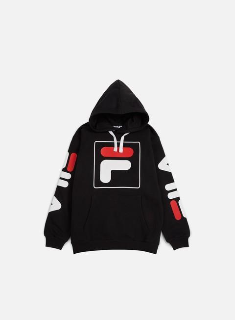 felpe fila total hoodie black