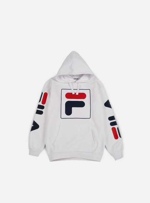 felpe fila total hoodie bright white