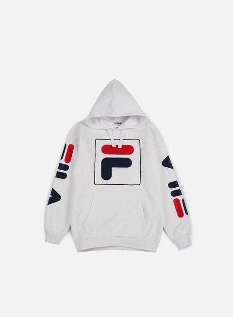 felpe fila total hoodie bright white