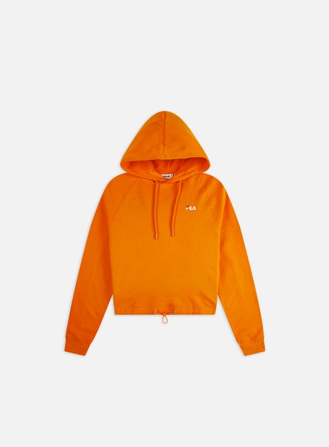 Outlet e Saldi Hoodie Fila WMNS Elaxi Cropped Hoodie