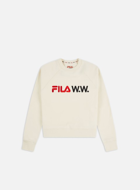 Crewneck Sweatshirts Fila WMNS Elena Oversized Crewneck