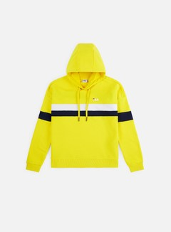 Fila - WMNS Ellah Hoodie, Empire Yellow/Bright White/Black