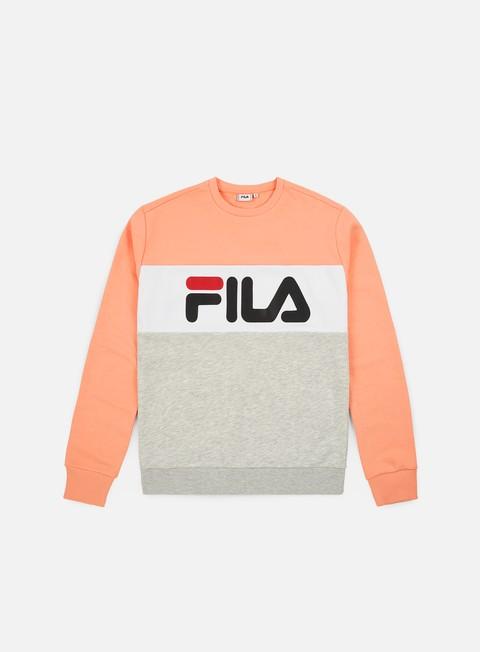 Logo Sweatshirts Fila WMNS Leah Crewneck