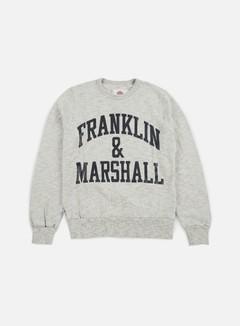 Franklin & Marshall Big Logo Crewneck Fleece