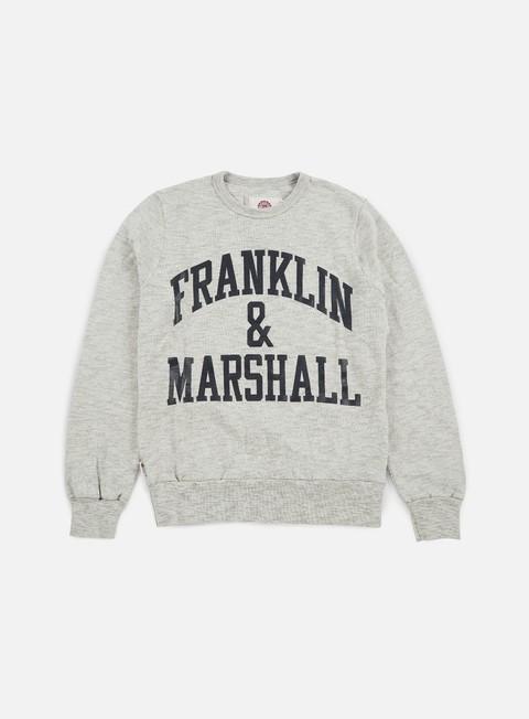 Crewneck Franklin & Marshall Big Logo Crewneck Fleece
