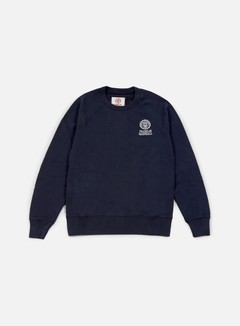 Franklin & Marshall - Crewneck Fleece, Navy