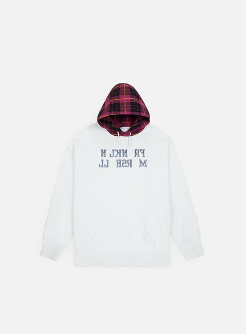 Hooded Sweatshirts Franklin & Marshall Sfera Ebbasta Checkered Hoodie
