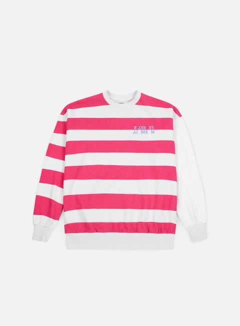 Franklin & Marshall Sfera Ebbasta Grunge Stripes Crewneck