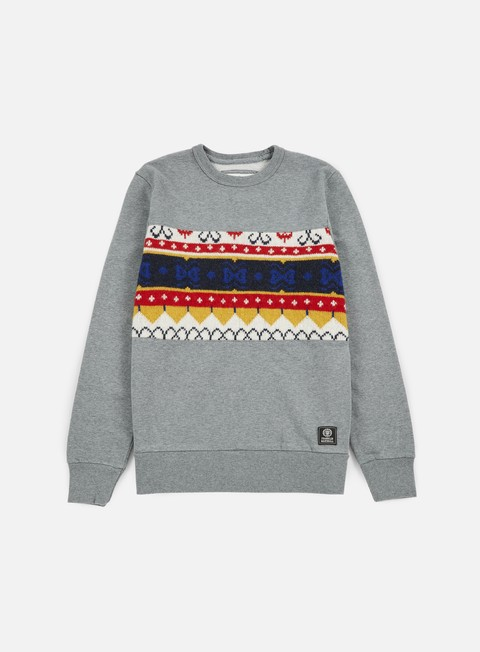 Crewneck Sweatshirts Franklin & Marshall Wool Insert Crewneck