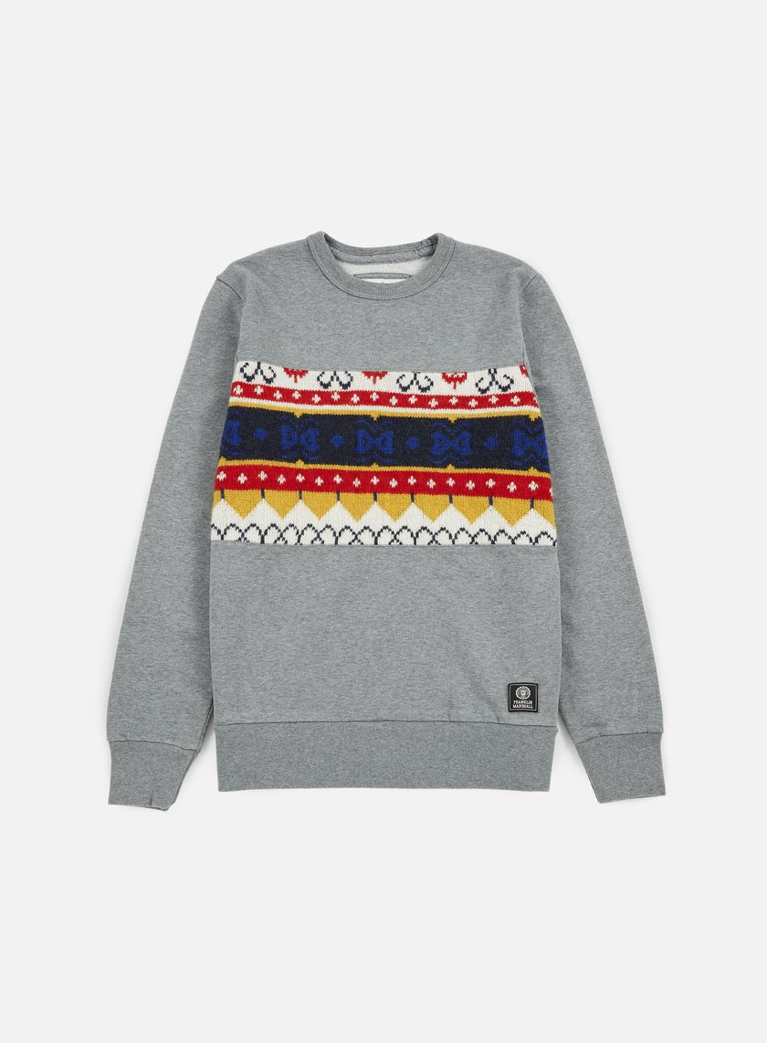 Franklin & Marshall Wool Insert Crewneck