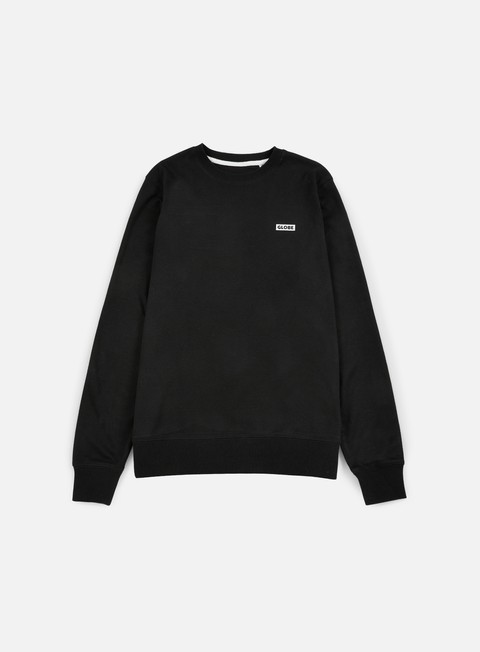 felpe globe bar crewneck black