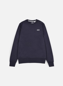 Globe - Bar Crewneck, Dusty Navy