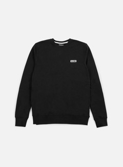 Globe - Block Crewneck, Black 1