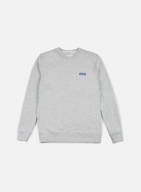 Sale Outlet Crewneck Sweatshirts Globe Block Crewneck