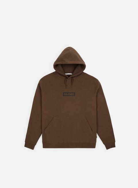 felpe globe block hoodie bronze