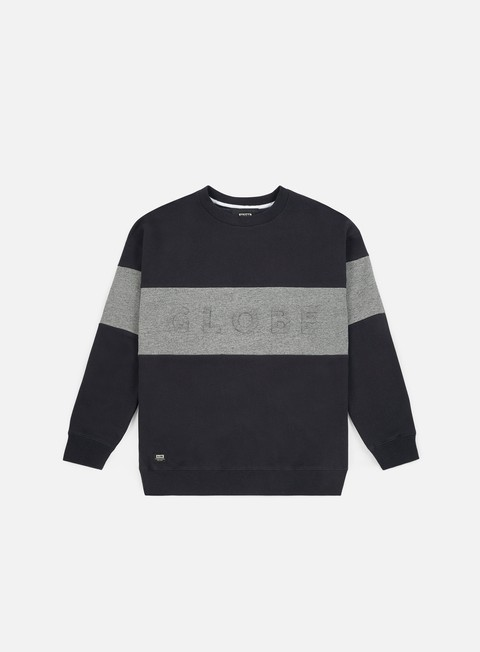 felpe globe boston crewneck granite