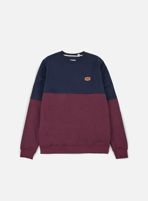 felpe globe covert crewneck port