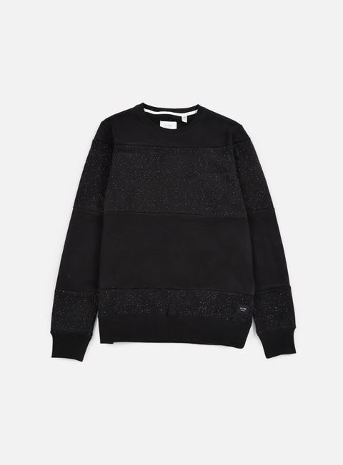 felpe globe dust crewneck black