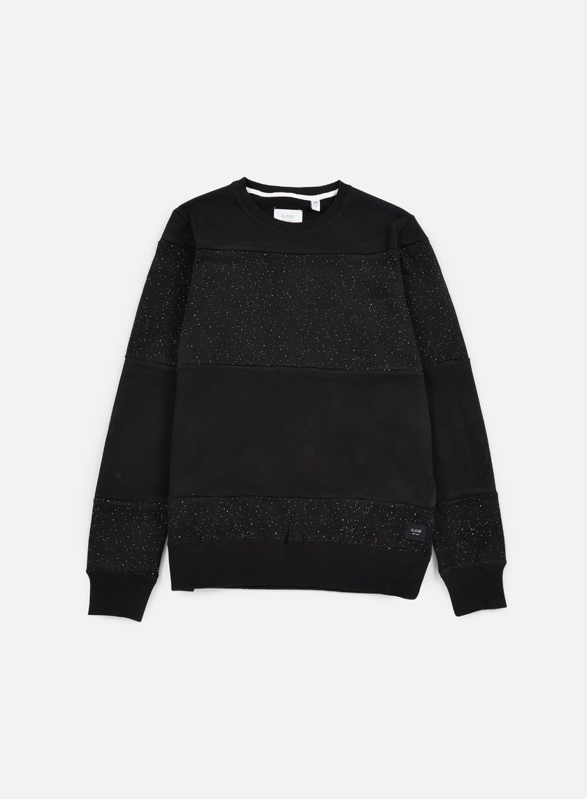 Globe - Dust Crewneck, Black
