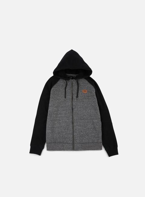 felpe globe fairhaven hoodie charcoal marle