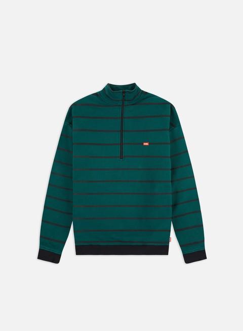 Sale Outlet Zip hoodie Globe Half Way Fleece Mock Neck