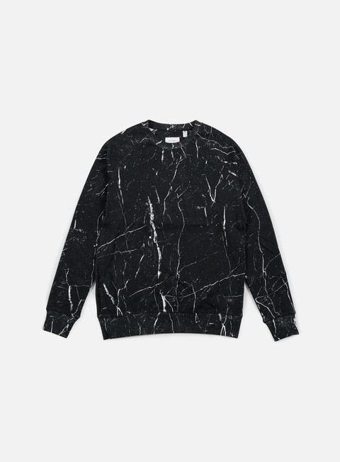 felpe globe james crewneck granite