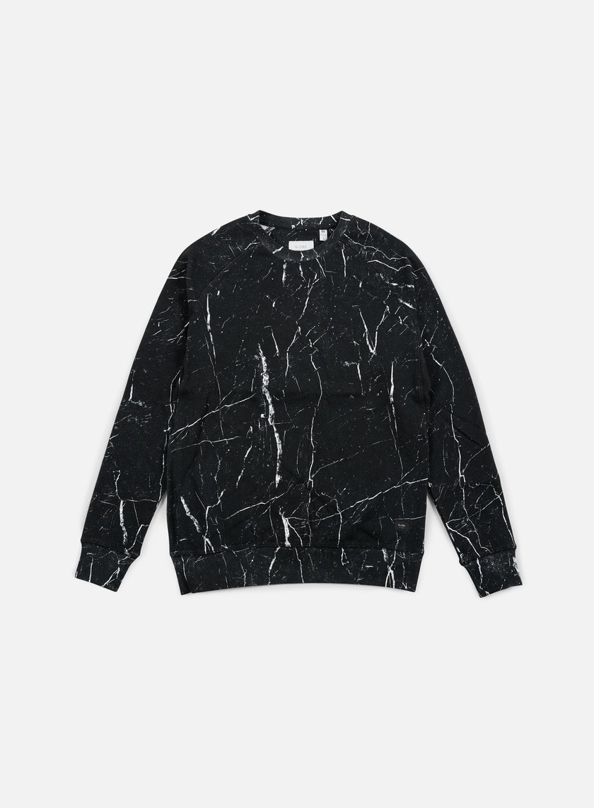Globe - James Crewneck, Granite