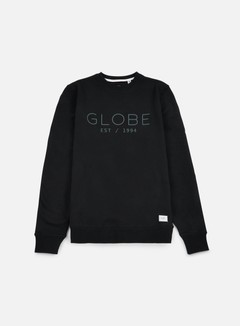Globe - Mod Crewneck, Black 1