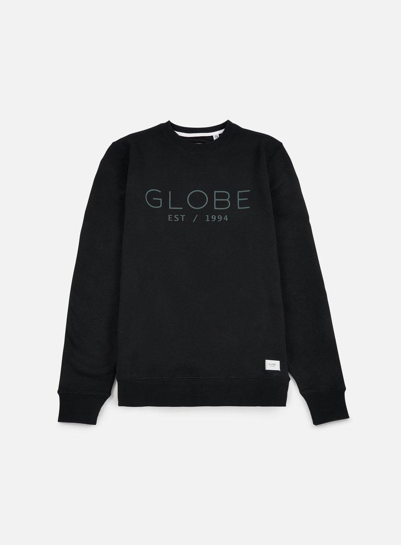 Globe - Mod Crewneck, Black
