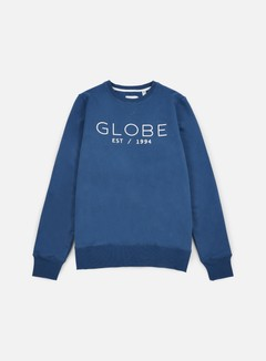 Globe - Mod Crewneck, Moroccan Blue 1