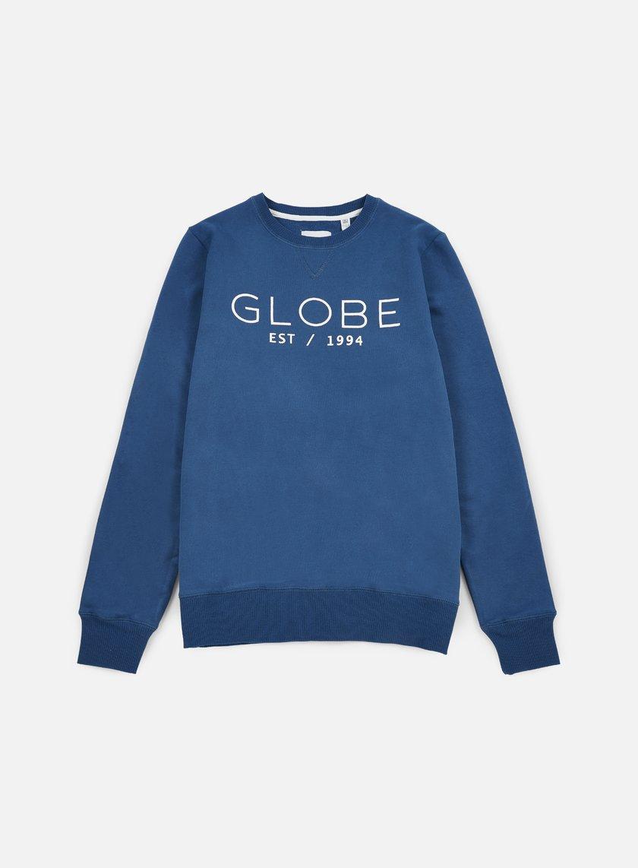 Globe - Mod Crewneck, Moroccan Blue