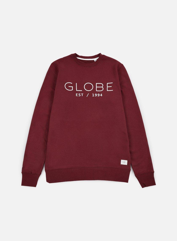Globe - Mod Crewneck, Wine