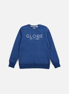 Globe - Mod II Crewneck, Moroccan Blue 1