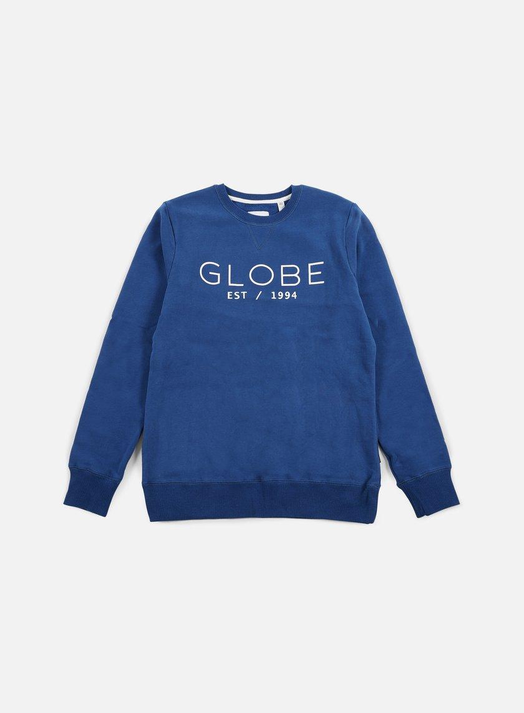 Globe - Mod II Crewneck, Moroccan Blue