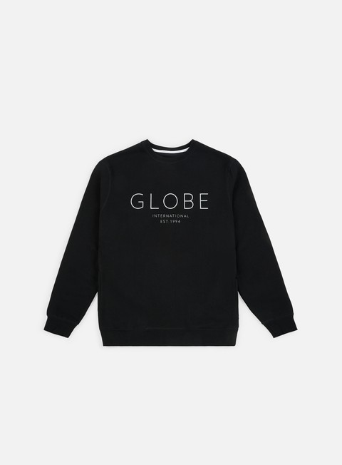 felpe globe mod iv crewneck black