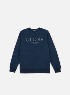 Globe - Mod IV Crewneck, Cosmic Blue