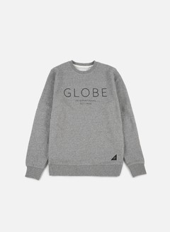 Globe - Mod IV Crewneck, Pewter Marble 1