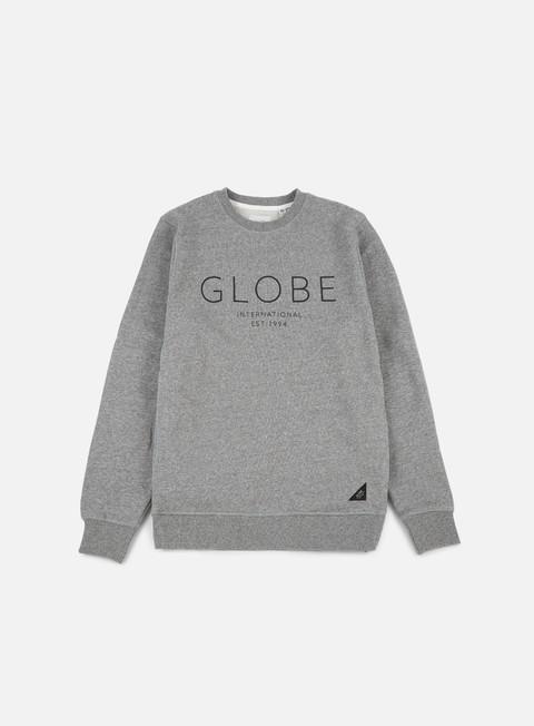 felpe globe mod iv crewneck pewter marble