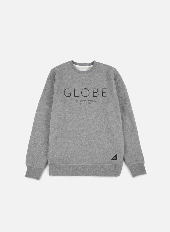 Globe - Mod IV Crewneck, Pewter Marble