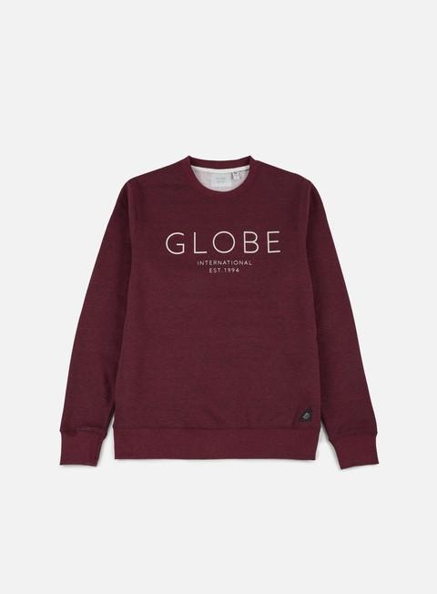 felpe globe mod iv crewneck port