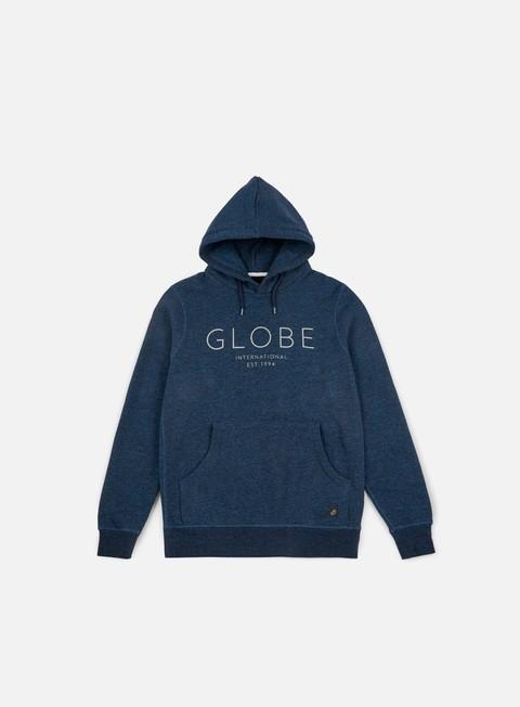 felpe globe mod iv hoodie cosmic blue