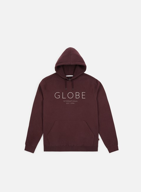felpe globe mod iv hoodie wine