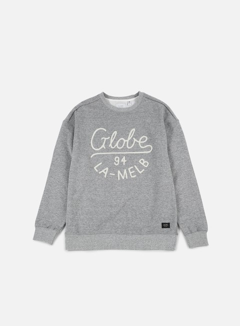 felpe globe striker crewneck grey heather