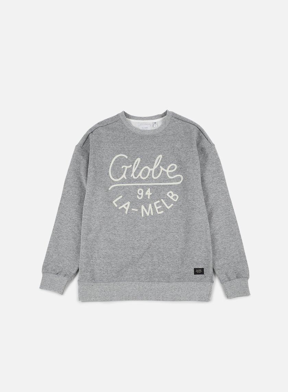 Globe - Striker Crewneck, Grey Heather