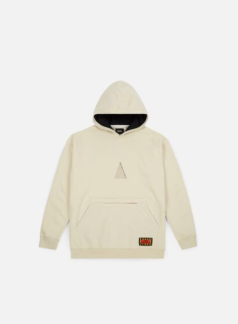 felpe globe ue pyramid hoodie milky