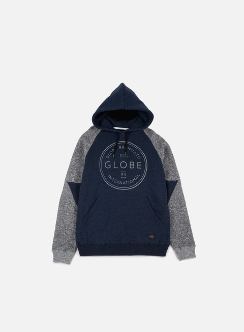 felpe globe winson hoodie cosmic blue